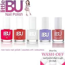 little bu water based non toxic colour nail polish for teens mum
