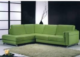 canap d angle vert lazio vert amande canapé cuir d angle salon cuir salon meubles