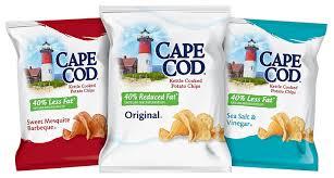 amazon com cape cod kettle seaside sampler potato chips 24 count
