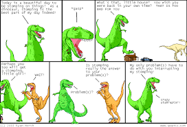 Meme Comic Strip - dinosaur comics know your meme