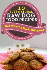 raw dog food recipes dog by bowl critter recipes pinterest