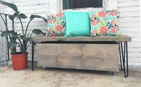 diy farmhouse bench for small spaces hometalk