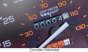 car mileage what does exempt mileage corvette