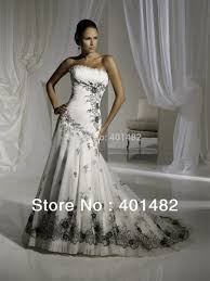 say yes to the dress black wedding dress say yes to the dress white dress with black lace dress edin