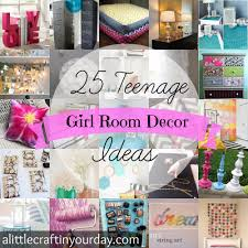 Teen Girls Bedroom by 25 Teenage Room Decor Ideas A Little Craft In Your Day