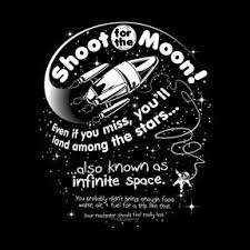 shoot for the moon space tshirt s s neil degrasse