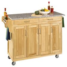 kitchen island granite top home styles large create a cart kitchen island hayneedle