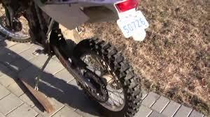 2007 husqvarna te450 enduro dirtbike startup and walkaround youtube