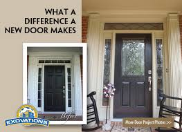 Exterior Entry Doors With Glass Replacing Front Entry Door About Nifty Interior Decor Home D90