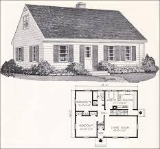 cape cod cottage house plans modest decoration cape house plans 1961 weyerhauser home design no