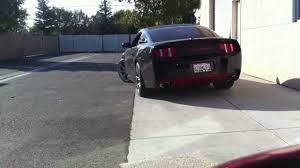 Black Mustang Saleen 2012 Mustang Saleen Exotic Full Exhaust Youtube
