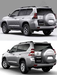 land cruiser prado car 2018 toyota land cruiser prado completely leaked in new high res