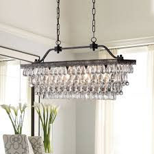 Rectangular Light Fixtures For Dining Rooms by Rectangular Crystal Chandelier Design Round Crystal Chandelier