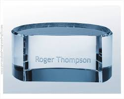 engraved office gifts engraved solid name plate paperweight bolla