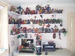Shelves For Collectibles by Above Computer Collectible Displays Pinterest Man Cave Items