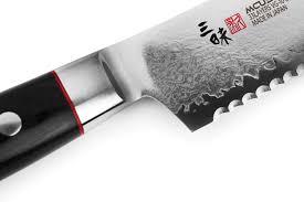 mcusta zanmai classic bread knife 9 inch cutlery and more