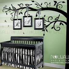 Wall Decals Baby Nursery Corner Tree Wall Decal Baby Nursery Wall From Nouwall On Etsy