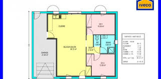 maison plain pied 2 chambres plan maison plain pied 80m2 idées décoration intérieure