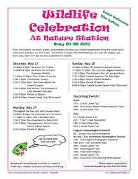 wildlife celebration at nature station in land between the lakes