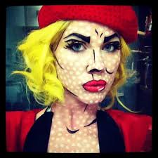 Pop Art Costume Halloween Roy Lichtenstein Costume αναζήτηση Google Halloween