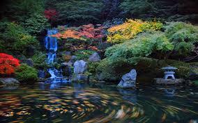 japanese garden wallpaper wallpapersafari