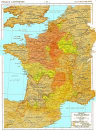 Map France by French History Maps