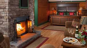 Fireplace Room by Boutique Lodging Near Lake George Ny Friends Lake Inn