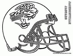 coloring pages football helmet kids coloring