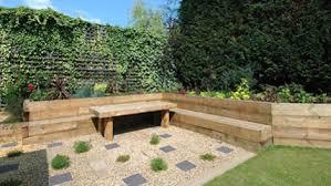 Gardens With Sleepers Ideas Small Garden Design Sleepers Pdf