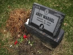 headstone maker true story i designed andy warhol s gravestone trey speegle
