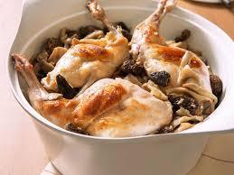 cuisiner du lapin facile lapin aux chignons facile et pas cher recette sur cuisine actuelle