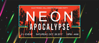 miami beach halloween party 2017 neon apocalypse 2017 miami live miami beach 28 oct 2017