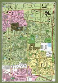 Chicago Il Street Map by Elk Grove Village