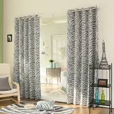 Zebra Curtain Panels Eclectic Curtains U0026 Drapes You U0027ll Love Wayfair
