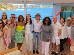 obamas on david geffen u0027s yacht with celebrity guests business