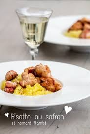 recette cuisine tous les jours risotto au safran et homard flambé recette cuisine de tous les jours