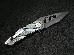 kisaragi dew hara custom tactical folding knife custom knives