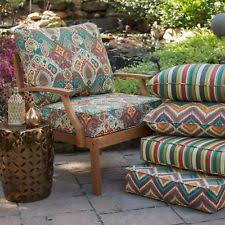 Patio Chair Seat Pads Patio Paisley Chair Cushions Pads Ebay