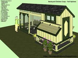 chicken coops blueprints free with simple poultry house plans 8461