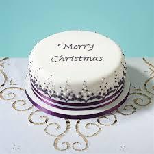 Classy Christmas Cake Decoration by Mich Turner U0027s Ultimate Christmas Cake Recipe Little Venice Cake