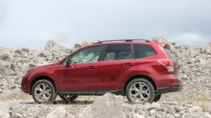 red subaru forester 2016 venturing off road in the 2017 subaru forester autotrader ca