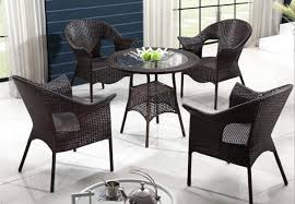 freeshipping imitation rattan outdoor furniture cany chair tea