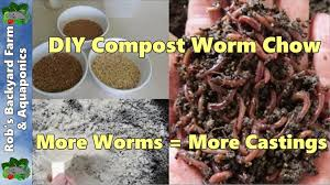 boost compost worm growth using diy dry food more worms mean more