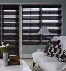 Gray Blinds Wood Blinds Custom Wooden Blinds Blindsgalore