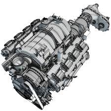 Dodge Ram Models - dodge ram v8 engine 3d model u2013 3d horse
