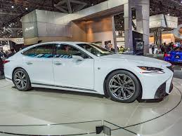 sporty lexus 4 door 2018 lexus ls 500 f sport adds edge to elegance kelley blue book