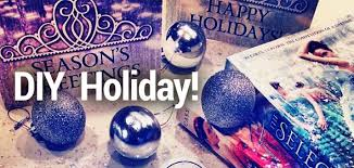 diy selection greeting cards and ornaments epic reads