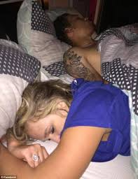 Lovely Couple In Bed Lying In Bedroom Man Takes Pictures Of Girlfriend In Bed With Another Man Daily