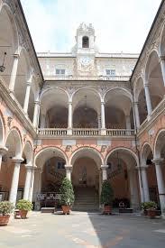 il cortile genova cortile interno palazzo palazzo doria tursi genova immagine