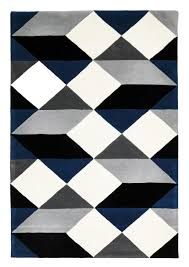 Black And White Striped Outdoor Rug by Blue Rugs Free Shipping Australia Wide
